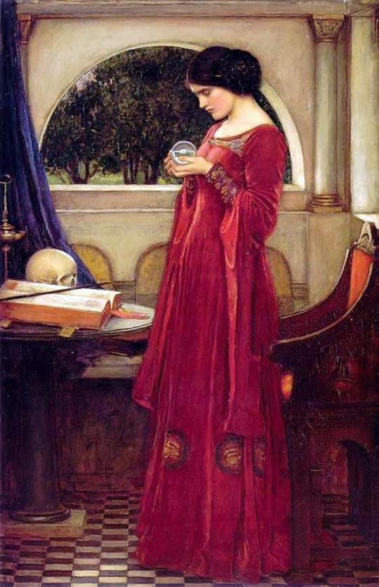 The Crystal Ball by John William Waterhouse. 1902