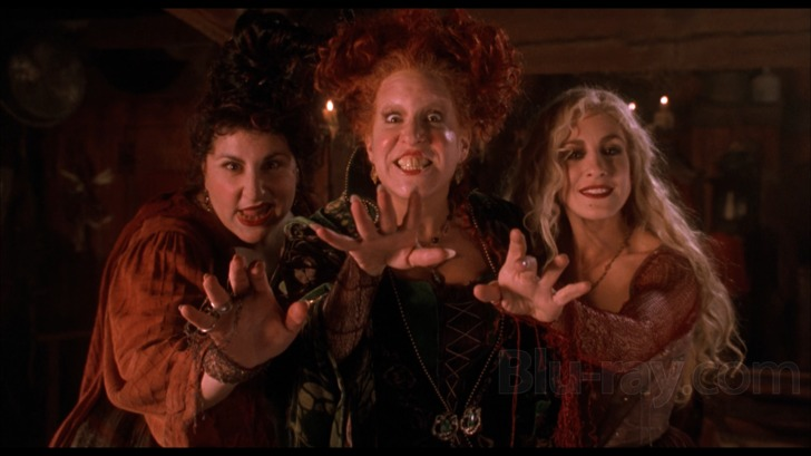 Mary, Winifred and Sarah - the Sanderson Sisters