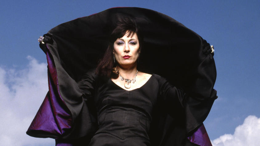 Anjelica Huston as The Grand High Witch