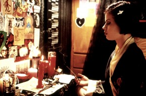 Nancy (Fairuza Balk) casts a spell in The Craft.