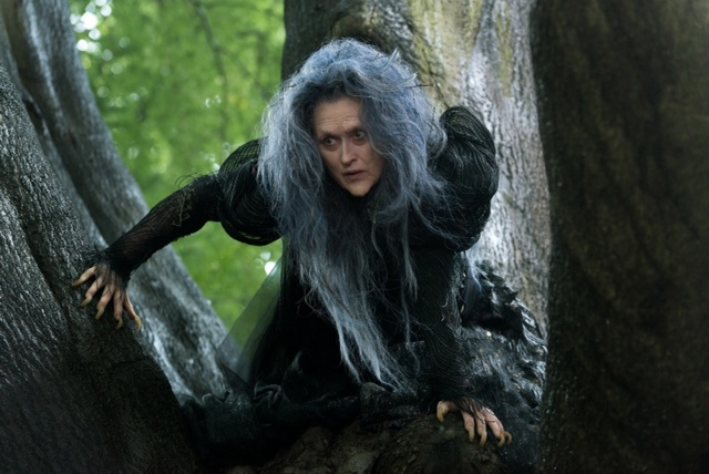 Can't wait to see Meryl Streep as the Witch in Into the Woods.