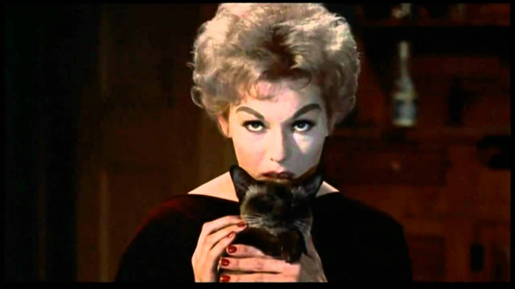 Kim Novak as Gillian Holroyd, a Greenwich VIllage witch.