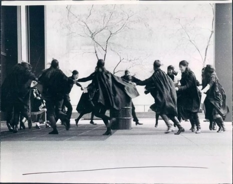 1969 WITCH protest at the Chicago Federal Building.
