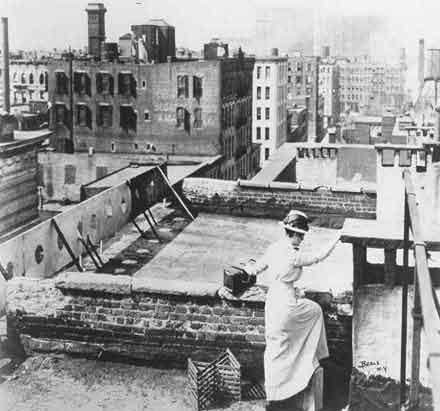 nurse-on-roof